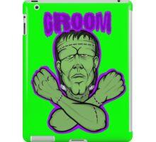 frankenstein groom  iPad Case/Skin