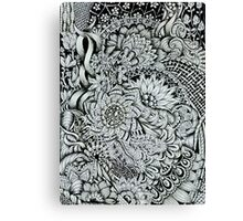 Tangled Blooms #2 Canvas Print