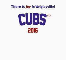 There is joy in Wrigleyville! Chicago Cubs 2016 Men's Baseball ¾ T-Shirt