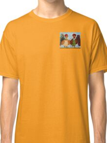 American Gothic Roosters Down on the Farm Classic T-Shirt