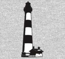 Bodie Island Light [no background] One Piece - Long Sleeve