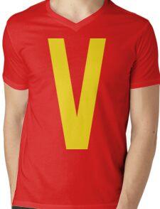 Classic Valkin! Mens V-Neck T-Shirt