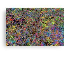 Particle Flash Dance Canvas Print