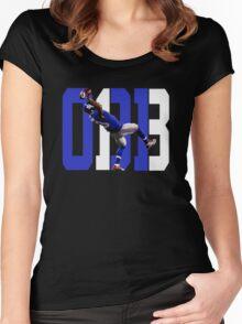 Odell Beckham Jr - Catch Women's Fitted Scoop T-Shirt
