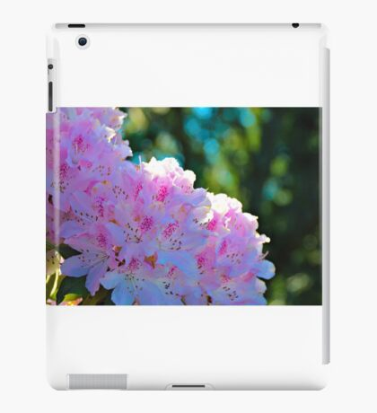 Pink Rhododendron iPad Case/Skin