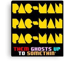 PACMAN/Jumpman Color Canvas Print
