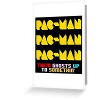 PACMAN/Jumpman Color Greeting Card