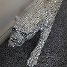 Stealth Attack - Silver Panther by kathrynsgallery