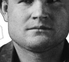 Butch Cassidy Mugshot Sticker