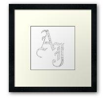 AJ Styles - UK Delivery Framed Print