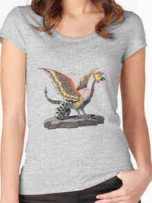 Friedrich Justin Bertuch's Cockatrice Women's Fitted Scoop T-Shirt