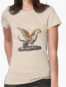 Friedrich Justin Bertuch's Cockatrice Womens Fitted T-Shirt