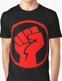 POWER TO THE PEOPLE (FIST) Graphic T-Shirt