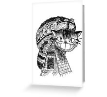 Catbus Greeting Card