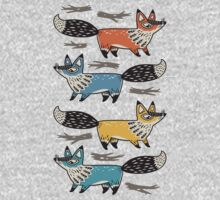 Foxes One Piece - Long Sleeve