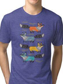 Foxes Tri-blend T-Shirt
