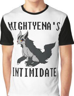 Mightyena's Intimidate! Graphic T-Shirt