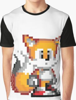 "Miles ""Tails"" Prower - Sprite Graphic T-Shirt"