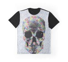 Geometric Skull Design Graphic T-Shirt