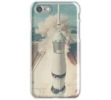 Early Nasa Rocket Launch iPhone Case/Skin