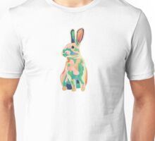 Colourful rabbit, bunny Unisex T-Shirt