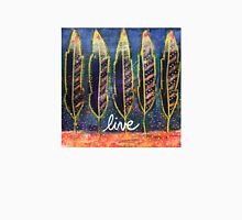 Live (Free): Inner Power Painting Unisex T-Shirt
