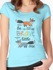 Foxes Women's Fitted Scoop T-Shirt
