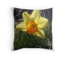 Wide Open Floral Throw Pillow