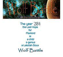 Wolf Battle   Photographic Print