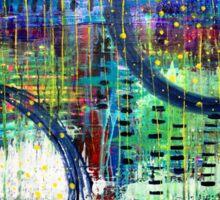 Hoop Dreams: Inner Power Paintings Sticker