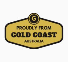 Proudly From Gold Coast Australia Kids Tee