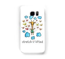 Stretch and Be Lifted: Whimsical Giraffe Watercolor Illustration Samsung Galaxy Case/Skin