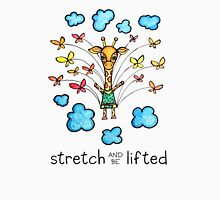 Stretch and Be Lifted: Whimsical Giraffe Watercolor Illustration Women's Tank Top