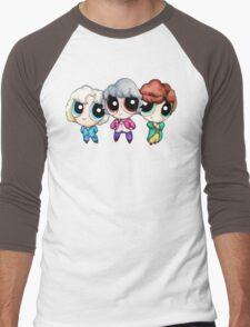 Golden Puff Girls Men's Baseball ¾ T-Shirt