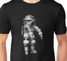 Vintage retro deep sea diver Unisex T-Shirt