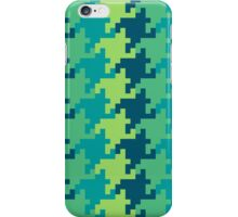Pixellated Houndstooth iPhone Case/Skin