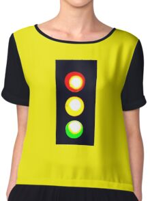 STOP AND GO LIGHT #2 Chiffon Top