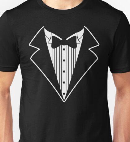 Fake Tux Tuxedo Suit Tie Unisex T-Shirt
