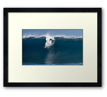 The Art Of Surfing In Hawaii 30 Framed Print