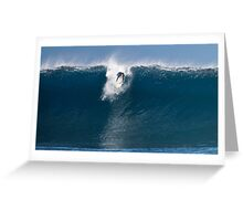 The Art Of Surfing In Hawaii 30 Greeting Card