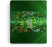 Legend of Zelda 25th Anniversary  Canvas Print