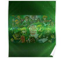 Legend of Zelda 25th Anniversary  Poster