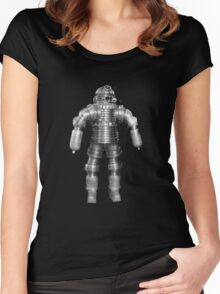 Retro Vintage Deep Sea Diver Women's Fitted Scoop T-Shirt