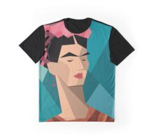 Frida Kahlo Cubism Graphic T-Shirt