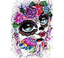 Sugar Girl in Flower Crown 2 Photographic Print