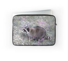 Springtime in the Rockies (with Raccoons!) | Stanleigh and Friends Laptop Sleeve