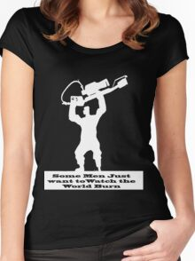 Pyro Taunt Women's Fitted Scoop T-Shirt