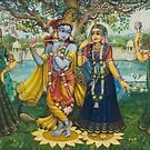 Yugal Kishor. Radha Krishna by Vrindavan Das
