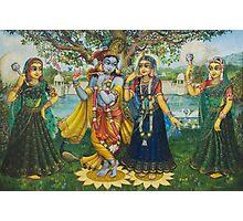 Yugal Kishor. Radha Krishna Photographic Print