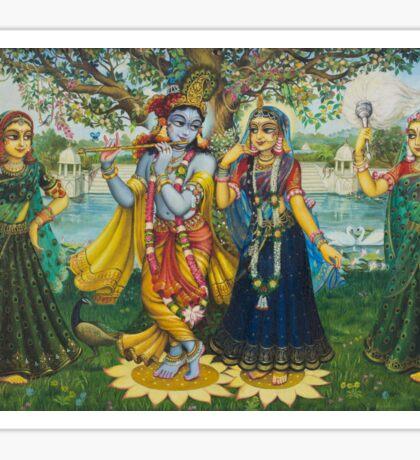 Yugal Kishor. Radha Krishna Sticker